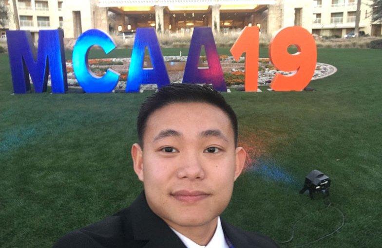 Jonathan Dang Receives Foster McCarl, Jr. Memorial Scholarship