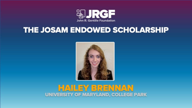 Hailey Brennan Remains Josam Endowed Scholarship Recipient