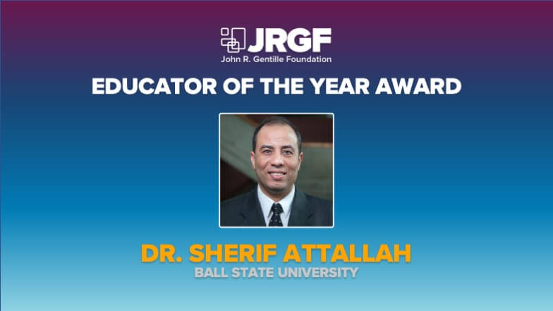 Dr. Sherif Attallah Named MCAA's 2020 Educator of the Year