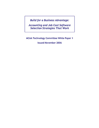 Build for a Business Advantage: Accounting Job Cost Software Strategies That Work