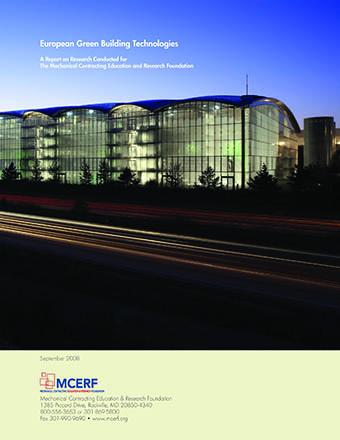 European Green Building Technologies