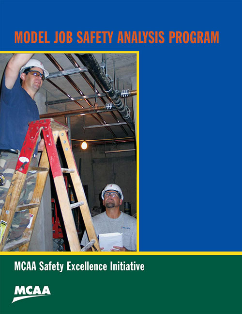 Model job safety analysis program mechanical service for America s best contractors