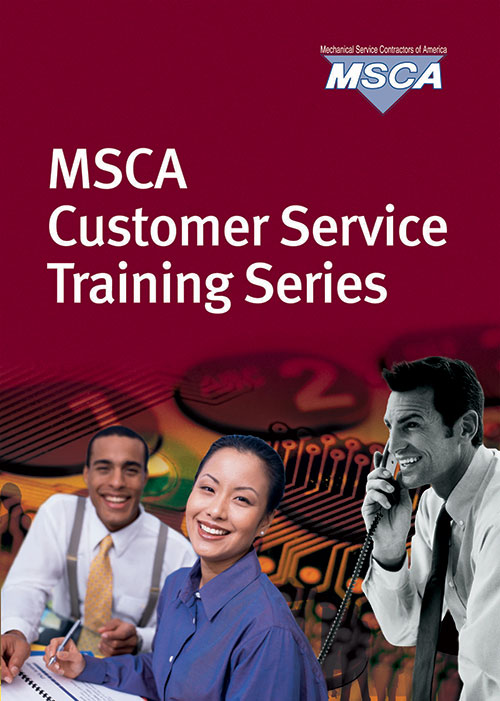 Msca customer service training series mechanical service for America s best contractors