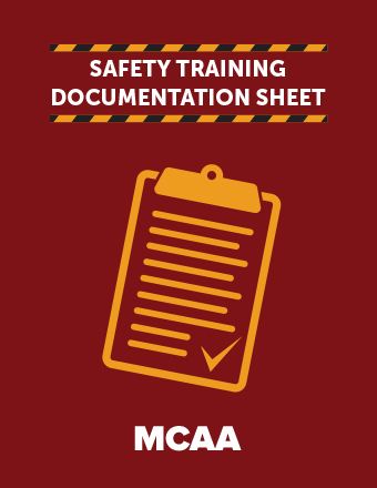 Aerial Lift Safety Training Documentation Sheet