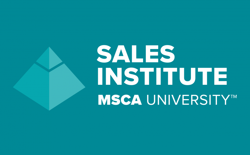 Check Out the 2020 Dates for MSCA Sales Institute Courses