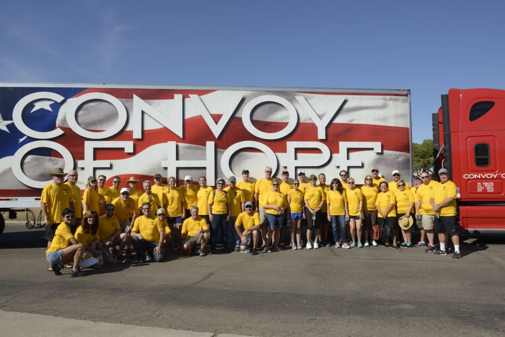 Msca And Convoy Of Hope Deliver Hope In Phoenix