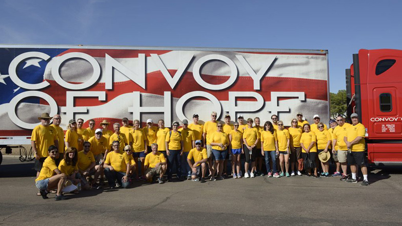 MSCA and Convoy of Hope Partner Again to Bring Hope in Boca Raton!