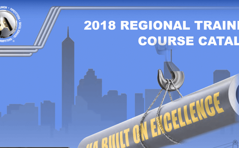 2018 Regional Training Course Catalog Now Available