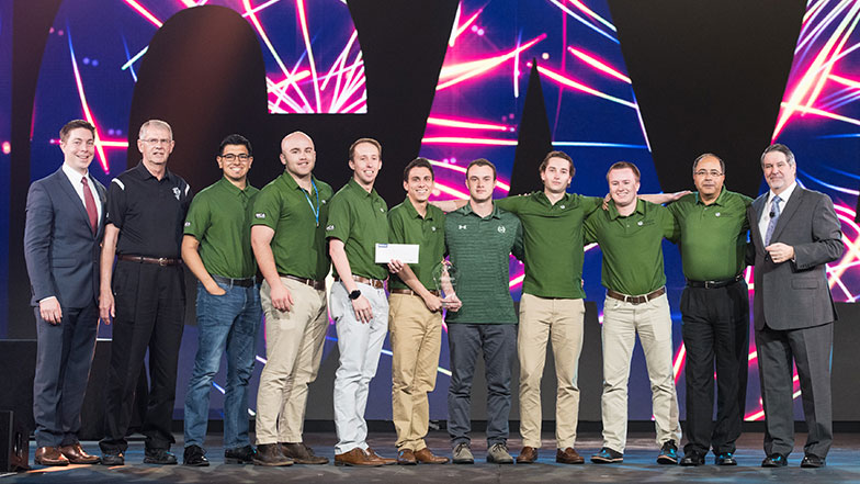 Colorado State Wins Student Chapter Competition