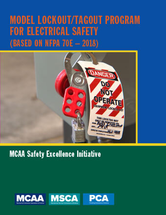 Model Lockout/Tagout Program for Electrical Safety (Based on NFPA 70E-2018)
