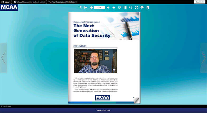 There's Valuable and Timely Information in MCAA's New WebBook Library