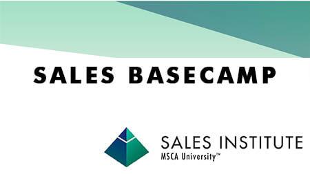Sales Basecamp: Registration Now Open