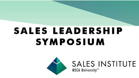 January MSCA Sales Leadership Symposium Fast Approaching