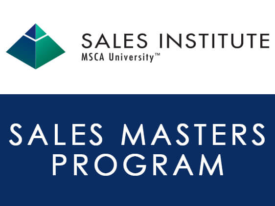 Sign Up Today for the 2019 Sales Masters Program!