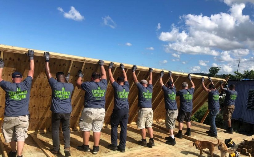 The Rewards of Giving Back: Arista Team Rebuilds a Home in Puerto Rico