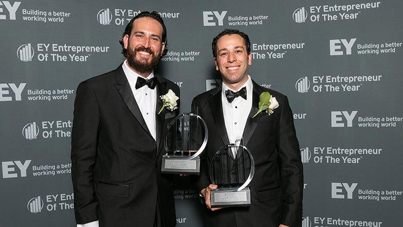 Neptune Plumbing Presidents Adam and Michael Wallenstein Win Entrepreneur Of The Year® Award