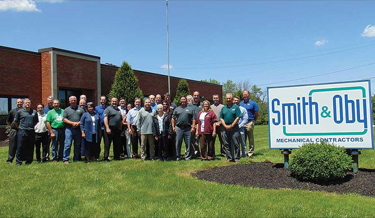 Smith & Oby Company Named 2019 Mechanical Contractor of the Year
