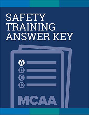 Excavation Safety for Mechanical Construction Training Test Answer Key