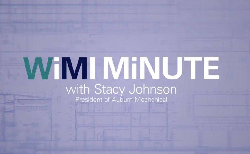 WiMI Minute – Meet the Women of WiMI: Stacy Johnson