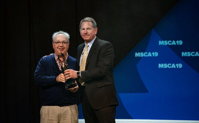 MSCA19 D.S. O'Brien Award Goes to Steve Smith