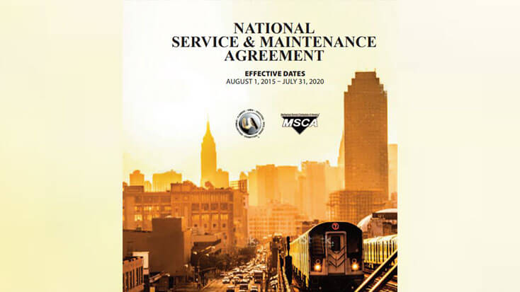 National Service and Maintenance Agreement Negotiations to Begin Spring 2020