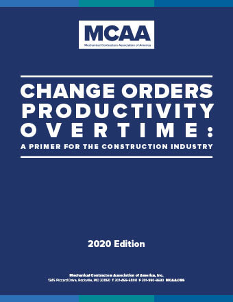 New MCAA Change Order Publication Update Provides Valuable Guidance During COVID Crisis