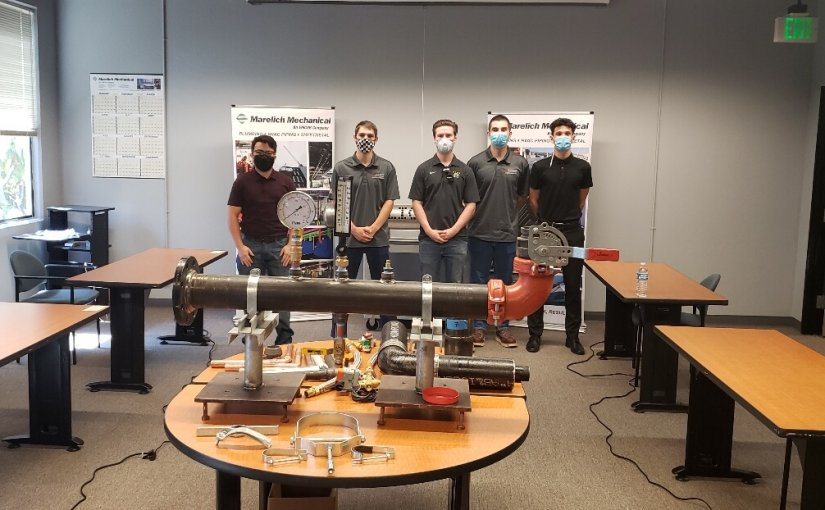Marelich Mechanical Company, Inc. Offers Career Opportunities for Chico State Student Chapter Members