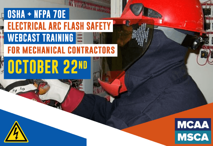 The Next Qualified Level Arc Flash Safety Training Webinars Scheduled for October 22, 2020