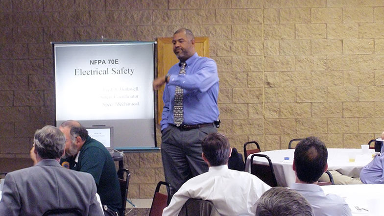 Fred Bothwell Shares Speer Mechanical's Arc Flash Training Experiences