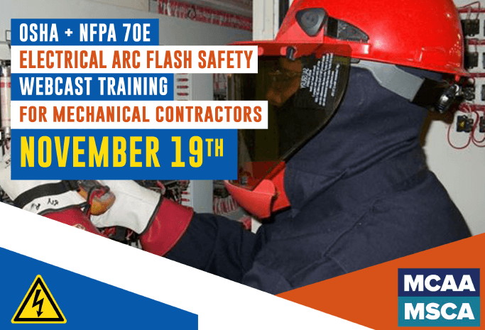The Next Qualified Level Arc Flash Safety Training Webinars Are Scheduled for November 19, 2020