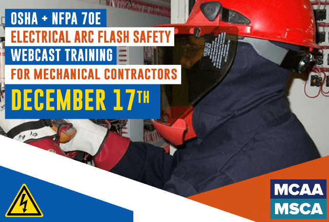 The Next Qualified Level Arc Flash Safety Training Webinars Scheduled for December 17, 2020