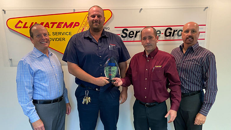 Climatemp Service Group, LLC Recognized for Safety Excellence