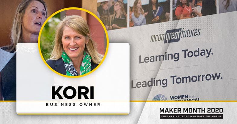 Kori Gormley-Huppert Featured in Maker Month Profile