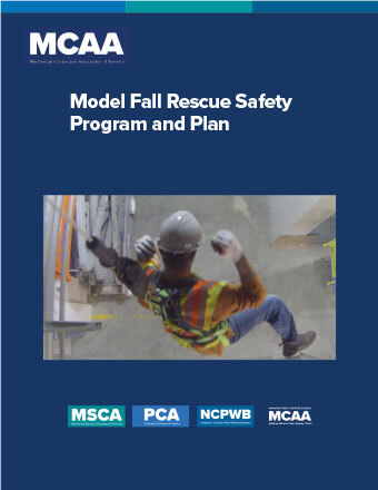 Need a Fall Rescue Safety Program & Plan? MCAA's New Model Can Help!
