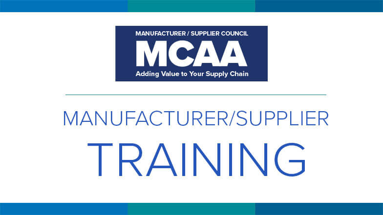 Introducing a New Way to Connect With Manufacturer/Supplier Training Resources