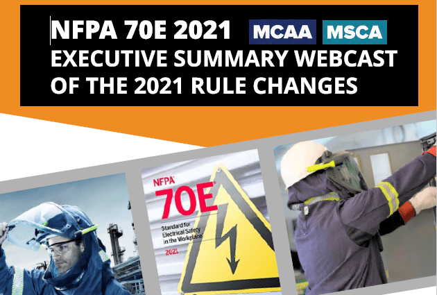 Need to Learn About the Changes Made to        NFPA 70E for 2021? Join Our Webcast on February 9th
