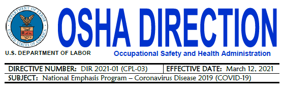What to Look for in OSHA's COVID-19 NEP