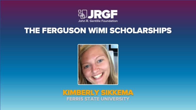 Kimberly Sikkema Receives Ferguson-Women in the Mechanical Industry Scholarship
