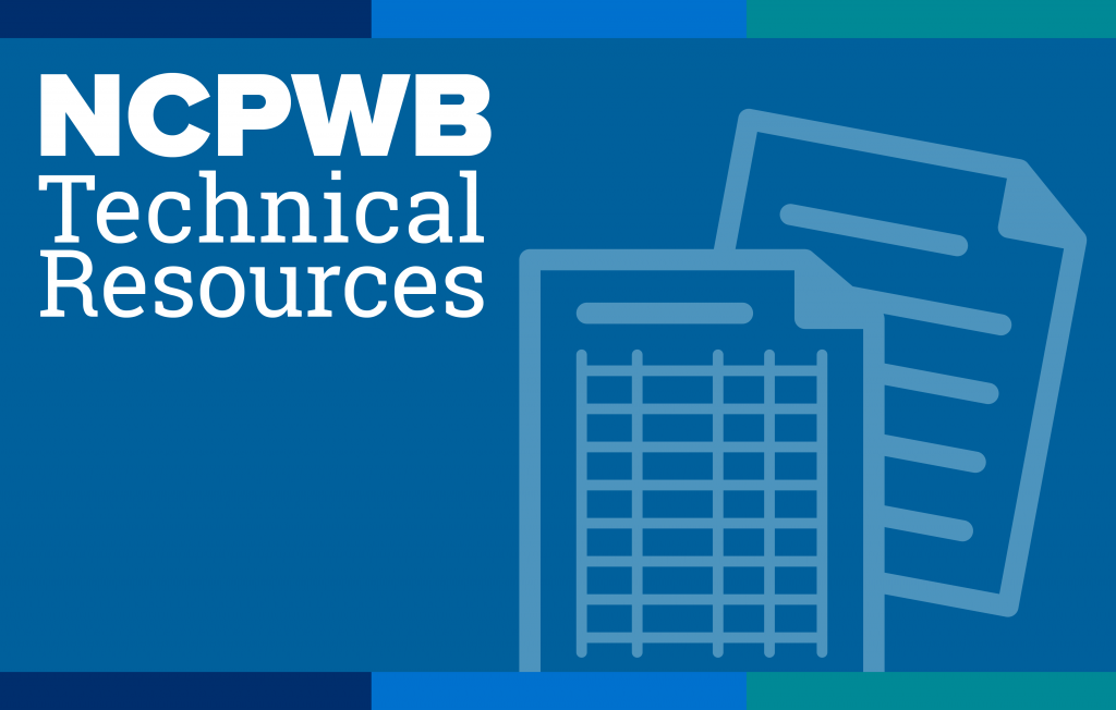 NCPWB Technical Resources
