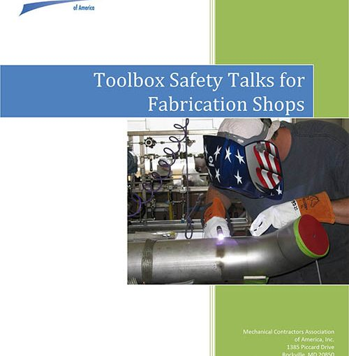 Toolbox Safety Talks for Fabrication Shops