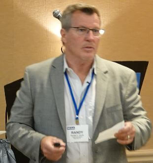 Randy Gandy spoke at the 2019 NCPWB Technical Conference.