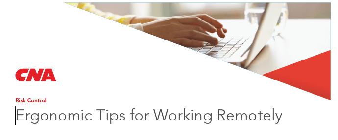 Ergonomic Tips for Working Remotely