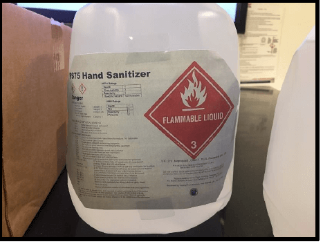 Alcohol-Based Hand Sanitizers Are Flammable