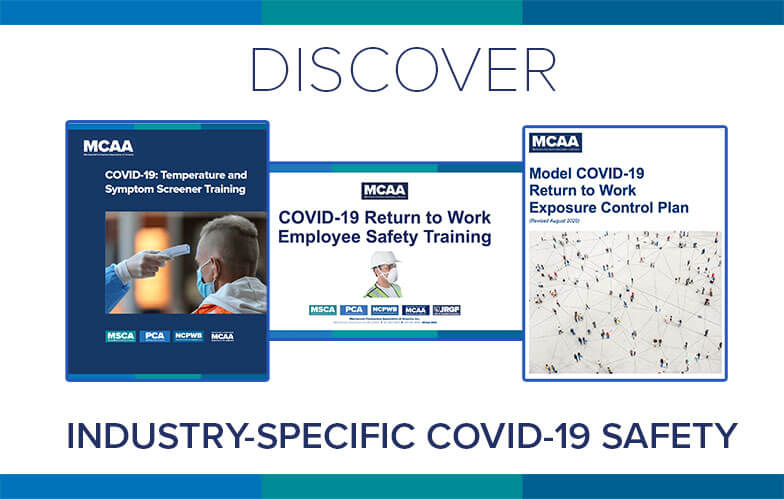 Resource Highlight: MCAA's Industry-Specific COVID-19 Safety Resources