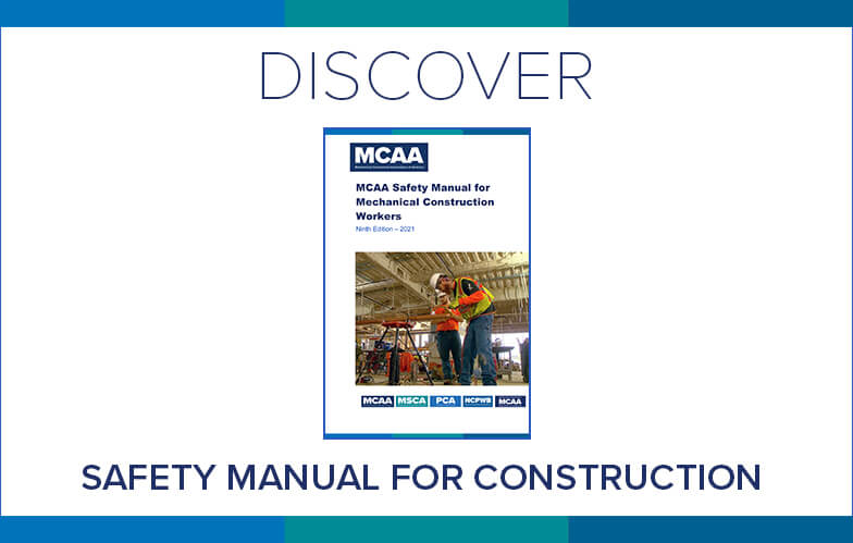 Resource Highlight: MCAA's Safety Manual for Mechanical Construction Workers