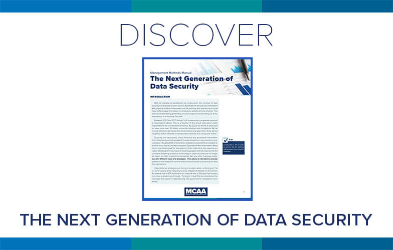 Resource Highlight: MCAA's Revised Management Methods Bulletin on The Next Generation of Data Security