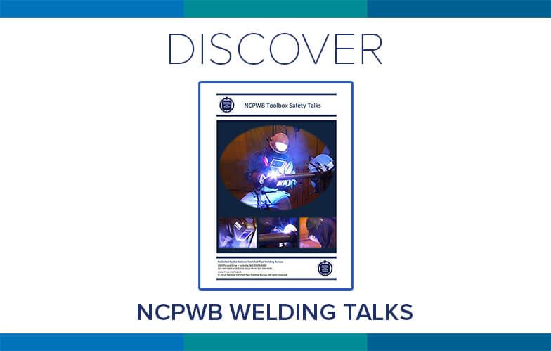 Resource Highlight: NCPWB's Welding Talks
