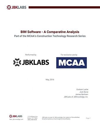 BIM Software – A Comparative Analysis