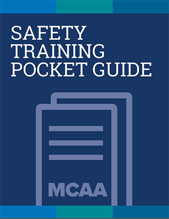 Excavation Safety for Mechanical Construction Safety Training Pocket Guide