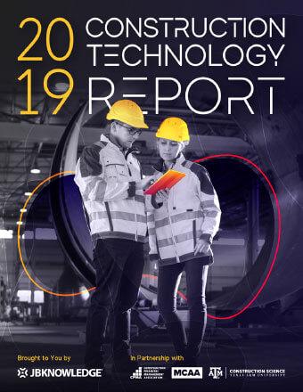 2019 Construction Technology Report